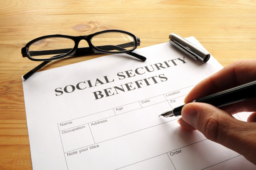 Edwards AFB social security benefits